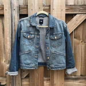 GAP Denim Cropped Jacket